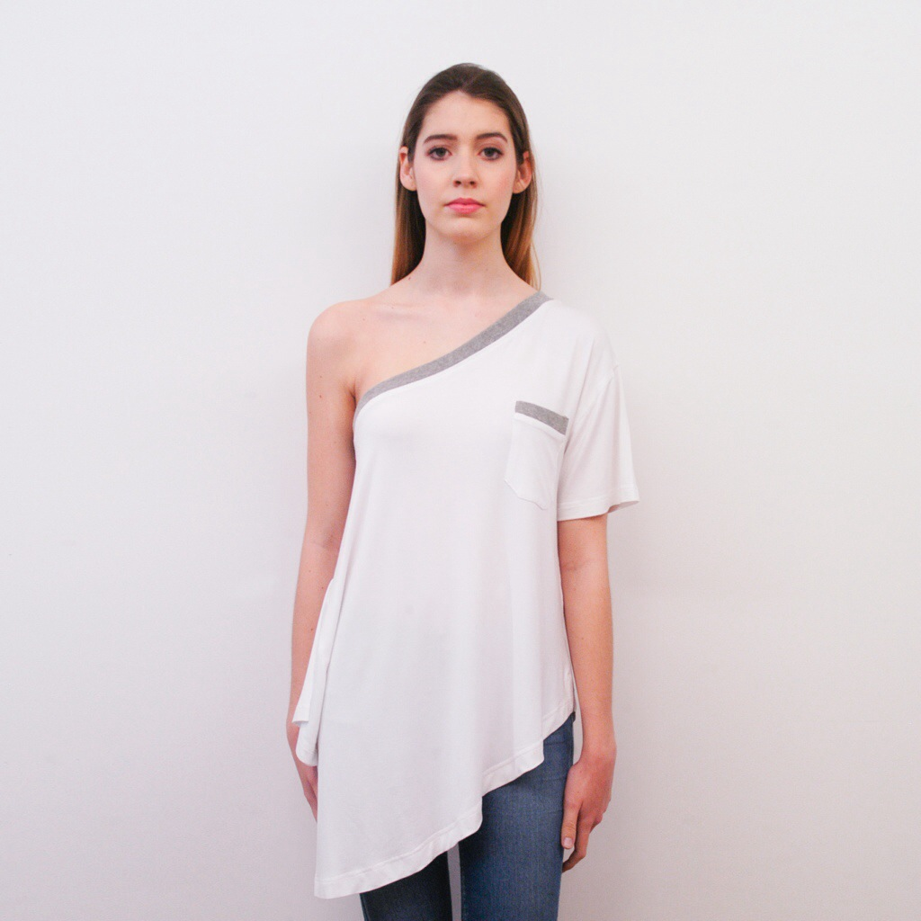 Whyte T-shirt Asimétrica