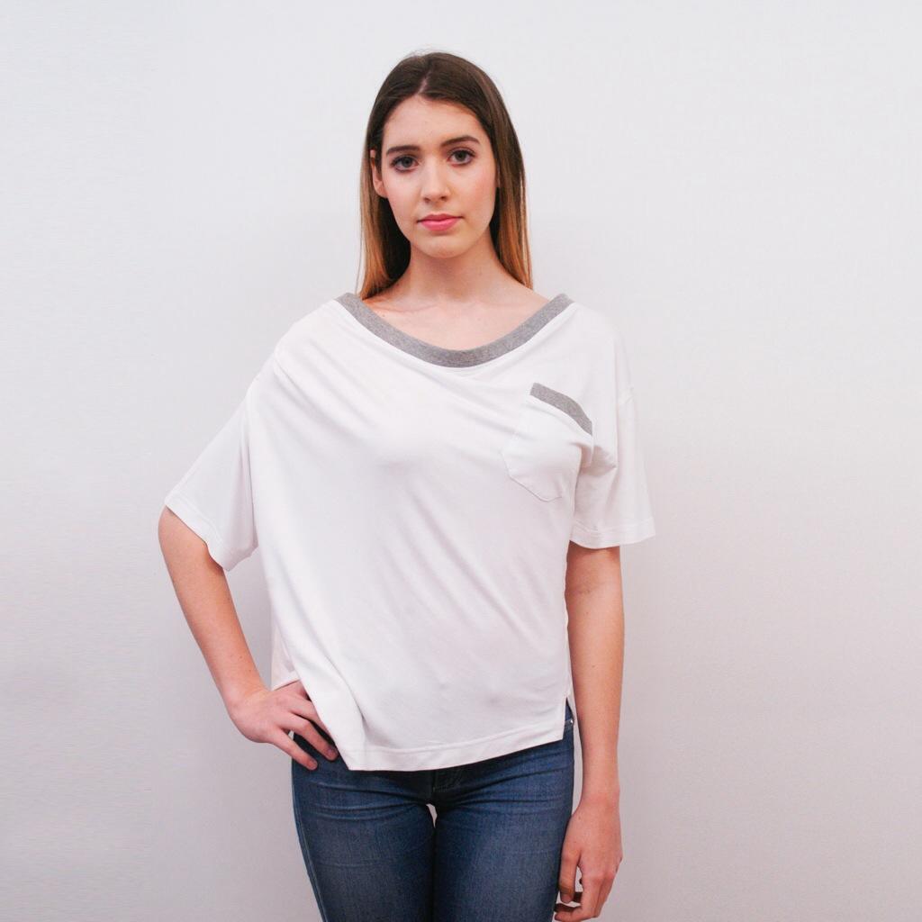 Whyte Spain  T-shirt Asimétrica